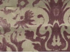 KOHRO, AEOLIAN Tessuto con motivi floreali in lino e cotone