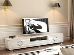 Mobile TV basso laccato HELIA   Mobile TV - Moderno
