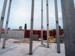 Pilastro a sezione ultrasnellaPilastro PTC® NPS® 25 x 25 cm - TECNOSTRUTTURE