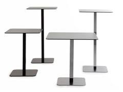 Tavolo quadrato in acciaio VOILÀ | Tavolo quadrato - Voilà