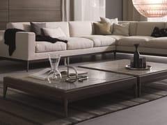Tavolino quadrato in legno massello da salottoANTIBES | Tavolino - MISURAEMME