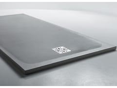 Piatto doccia in Ceramilux® con finitura in cemento H3 | Piatto doccia - Piatti doccia