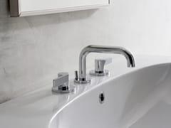 Rubinetto per lavabo a 3 fori da piano TERRA | Rubinetto per lavabo a 3 fori - Terra