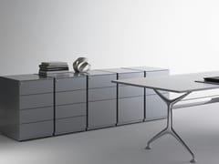 Cassettiera ufficio in metalloUNIVERSAL FREE STANDING - DIEFFEBI