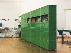 Mobile ufficio alto modulare in metallo USM HALLER MODULAR OFFICE SHELVING | Mobile ufficio - USM Haller