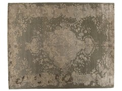 Tappeto fatto a mano rettangolare in lana e seta MARIE ANTOINETTE BRILLANT - Memories