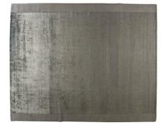 Tappeto rettangolare in lana e seta ALUMINIO - Shadows