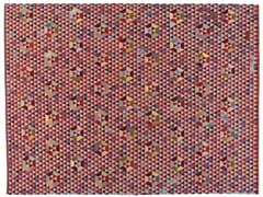 Tappeto rettangolare a motivi geometrici TRIANGLEHEX SWEET PINK - Triangles