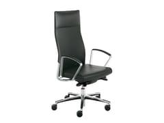 Poltrona ufficio direzionale con schienale alto WIN-S SLIM | Poltrona ufficio direzionale con schienale alto - Win