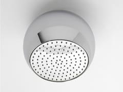 Soffione doccia a soffitto in ottone cromato SFERA | Soffione doccia a soffitto - Sfera
