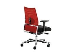 Sedia ufficio operativa in rete con braccioli WIN-R RETE | Sedia ufficio operativa con braccioli - Win