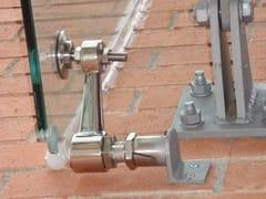 Sistema e profilo di ancoraggio per facciataFITECHNIC Glass Fitting MOD.1 complement - PENTAGONAL