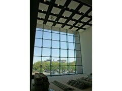 Facciata strutturale vetrataFITECHNIC Glass Fitting FIRL System - PENTAGONAL