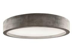 Lampada da soffitto a LED in cementoZERO51   Lampada da soffitto - LUCIFERO'S