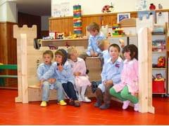 Struttura ludica in legno ANGOLO RE ARTU - I love wood