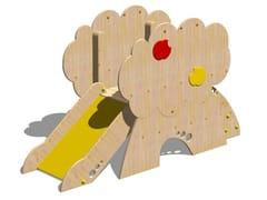 Scivolo in legno TORRE MELO - SCALA A GRADINI - I love wood