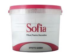 Pittura decorativa termoisolanteSOFIA SILVER - COLORIFICIO ATRIA