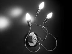 Lampada da parete in metallo cromato con braccio flessibile FREE SPIRIT CLASSIC   Lampada da parete - Free Spirit Classic