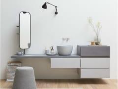 Mobile lavabo sospeso con cassetti ESPERANTO | Mobile lavabo sospeso - Esperanto
