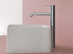 Rubinetto per lavabo monocomando in metallo in stile moderno senza scarico ZoN 597 - On