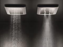 Soffione doccia a pioggia a soffitto con 2 getti MACÒ | Soffione doccia con 2 getti - Macò