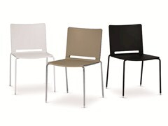 Sedia 4 gambeFILÒ PLASTIC | Sedia impilabile - DIEMMEBI