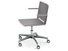 Sedia ufficio in polipropilene con braccioliLAFILÒ TASK | Sedia con braccioli - DIEMMEBI
