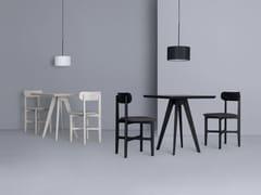Tavolo quadrato in legno CENA CAFE -
