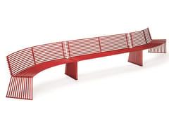 Urbantime, ZEROQUINDICI.015 | Panchina con schienale  Panchina con schienale