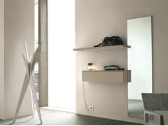 Mobile da ingresso componibile laccato a parete LOGIKA | Mobile da ingresso a parete - Logika