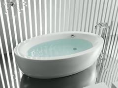 ROCA SANITARIO, GEORGIA Vasca da bagno centro stanza ovale in acrilico