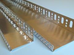Profilo paraspigolo in alluminioBase per sistema a cappotto - CABOX