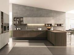 Cucina componibile con penisola FILOLAIN - Lain