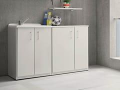 Mobile lavanderia con lavatoio per esterniBRACCIO DI FERRO | Mobile lavanderia con lavatoio - BIREX