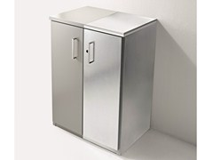 Mobile lavanderia in lamiera zincata con ante a battenteBRACCIO DI FERRO | Mobile lavanderia in lamiera zincata - BIREX