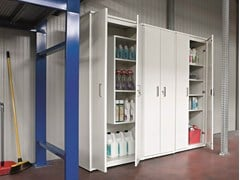 Mobile lavanderia a colonna con ante a battenteBRACCIO DI FERRO | Mobile lavanderia con ante a battente - BIREX