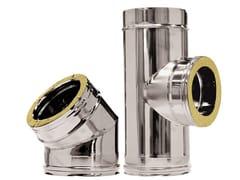Canna fumaria in acciaio inox Canna fumaria doppia parete - Inox - Termoidraulica