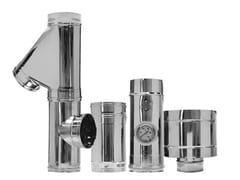 Canna fumaria in acciaio inox Sistemi fumari mono parete - Termoidraulica