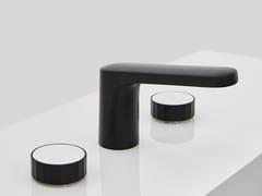 Rubinetto per lavabo a 3 fori con finitura opaca TEXTURE | Rubinetto per lavabo con finitura opaca - Texture
