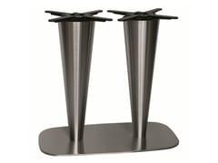 Base per tavoli in acciaio inox RONDOGEL-84-2 - Rondogel