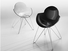 Sedia in policarbonato COOKIE | Sedia in policarbonato - Cookie