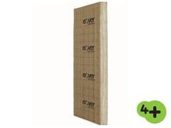 Pannello termoisolante / pannello fonoisolante in lana di vetro XL K 4+ - Isover 4+
