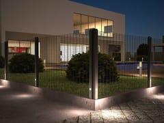 Palo per recinzione con illuminazione integrataB-LUX® - BETAFENCE ITALIA