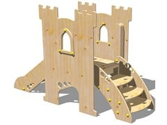 Scivolo in legno TORRE PARSIFAL - SCALA - I love wood