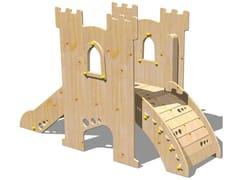 Scivolo in legno TORRE PARSIFAL - RAMPA - I love wood