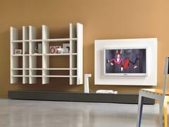 Parete attrezzata componibile con porta tv SLIM 9 - Slim