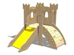 Struttura ludica in legno TORRE LANCILLOTTO - RAMPA - I love wood