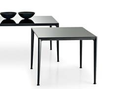 Tavolo quadrato in vetroMIRTO INDOOR | Tavolo quadrato - B&B ITALIA