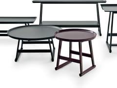 Tavolino laccato rotondo in rovere RECIPIO '14   Tavolino rotondo - Recipio