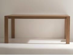 Tavolo rettangolare in noce RUBINO | Tavolo in noce - Rubino